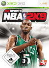 NBA 2K9 (Microsoft Xbox 360, 2008, DVD-Box)