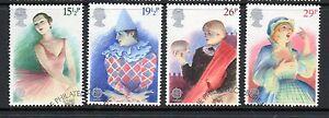 GB-1982-Europa-British-Theatre-fine-used-set-stamps
