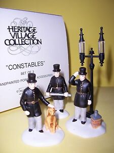 DEPT-56-034-CONSTABLES-034-SET-OF-3-HERITAGE-VILLAGE-ACCESSORIES