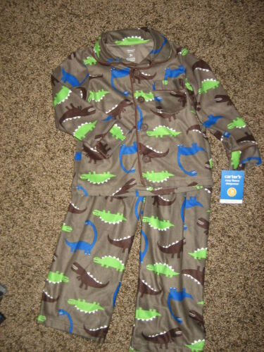NWT Carters microfleece sleepers pajamas U Pick 18 mos  2T  3T Free ship!