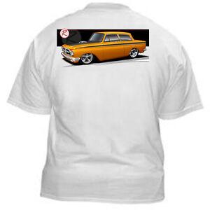 Kurbside-Kustoms-1962-AMC-Rambler-Muscle-Car-Hot-Rod-T-shirt-EB-27