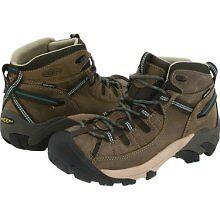 KEEN-Womens-TARGHEE-II-MID-Waterproof-Hiking-Boots-Laurel-Oak-Deep-Sea