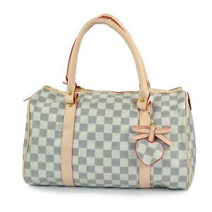 NEW-WOMEN-GIRL-LADIES-HANDBAG-Boston-BAG-ToteBag-Bostonbag-For-sale-FB0012