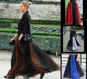 100-Silk-Skirt-Full-Circle-Long-Skirt-Maxi-Silk-Skirt-XS-S-M-L-XL-XXL-3XL-AF691