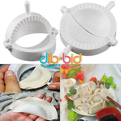Home DIY Chinese Dough Press Dumpling Pie Ravioli Making Mold Mould Maker SS