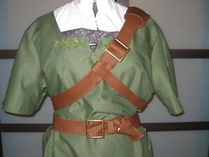 Legend-of-Zelda-cosplay-Twilight-Princess-BELT-SET-for-Link-Costume