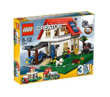 Lego Creator Hillside House 5771 Nuovo & Sealed NISB NIB Retirosso