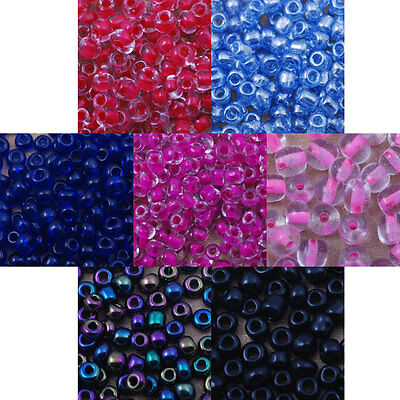 czech glass seed beads 12/0 10/0 6/0 spacer round jewelry finding making weaving