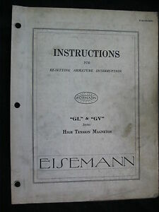 1930-EISEMANN-GL-amp-GV-SERIES-HIGH-TENSION-MAGNETOS-RESETTING-INSTRUCTIONS-MANUAL