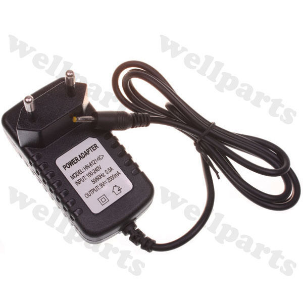 9V 2A DC 2.5mm EU Plug Power Supply Adapter Converter Chager for Tablet PC