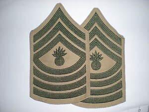 USMC-MASTER-GUNNERY-SERGEANT-RANK-GREEN-KHAKI-1-PAIR