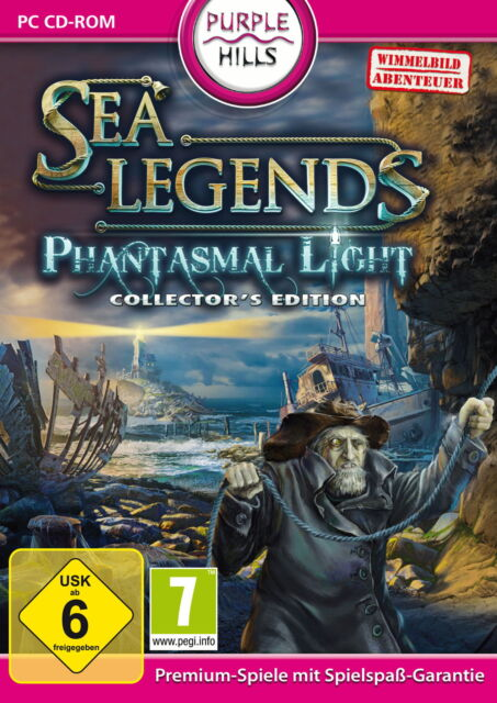 Sea Legends: Phantasmal Light - Collector's Edition (PC, 2012, DVD-Box)