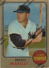 1996 Topps Mantle Finest Refractors Mickey Mantle New York Yankees #18 Baseball Card