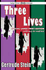 Three Lives by MS Gertrude Stein (Paperback / softback, 2011)