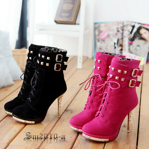 New-fashion-ladies-punk-sexy-vogue-high-heel-platform-ankle-boots-shoes