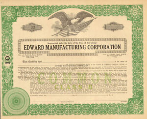 Edward-Manufacturing-Corporation-New-Jersey-stock-certificate-10-share