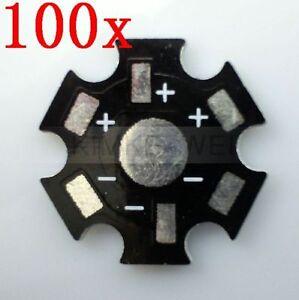 100-Stern-Star-Platinen-fuer-Hochleistungs-LED-High-Power-LED-Kuehlkoerper-1W-3W