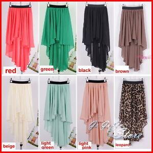 Fashion-Woman-Asymmetric-Dovetail-Chiffon-Short-in-Front-Back-Long-Skirt-Dress