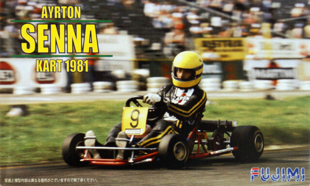 Fujimi KART-1 Ayrton Senna Kart 1981 1/20 scale kit