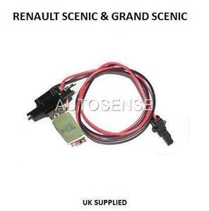 RENAULT-SCENIC-GRAND-SCENIC-HEATER-BLOWER-MOTOR-RESISTOR-RHEOSTAT-7701207876