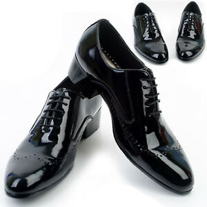 New Designer Mens Leather Italian Style Oxfords Dress