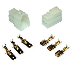 5-Kit-Connecteurs-Rapide-3-voies-6mm-E-BIKE-QUAD-CAR-MOTO