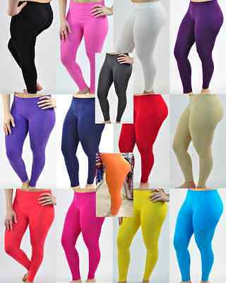 Long Leggings ~ 13 Colors ~ Very Comforable ~ Must See ~  BEST SELLER ~TIGHT FIT