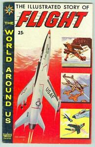 World-Around-Us-8-April-1959-VG-FN-Illustrated-story-of-Flight