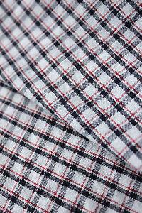 Antique-French-kelsh-duvet-comforter-cover-BLACK-red-and-white-RARE