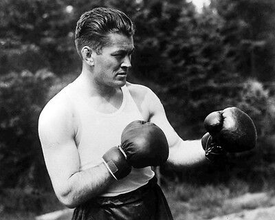 American Boxer GENE TUNNEY Glossy 8x10 Photo Vintage Boxing Heavyweight Print