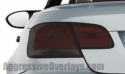 BMW Taillight Overlay Film 3-Series Coupe 08-10 pre cut smoked tint 335 E92