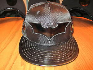 Dark-Knight-Rises-Batman-Suit-Hat-New-Era-5950-Fitted-Hat-DC-Comics-NWT