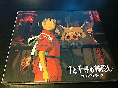 NEW Miyazaki Hayao Ghibli  Soundtrack Spirited Away CD MICA 0045 Chihiro figure