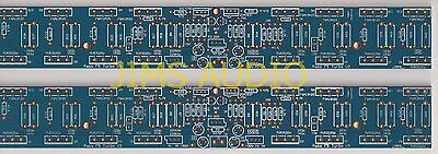 Mosfet high power 100W pure class A amplifier thick PCB  turbo V3 stereo !!