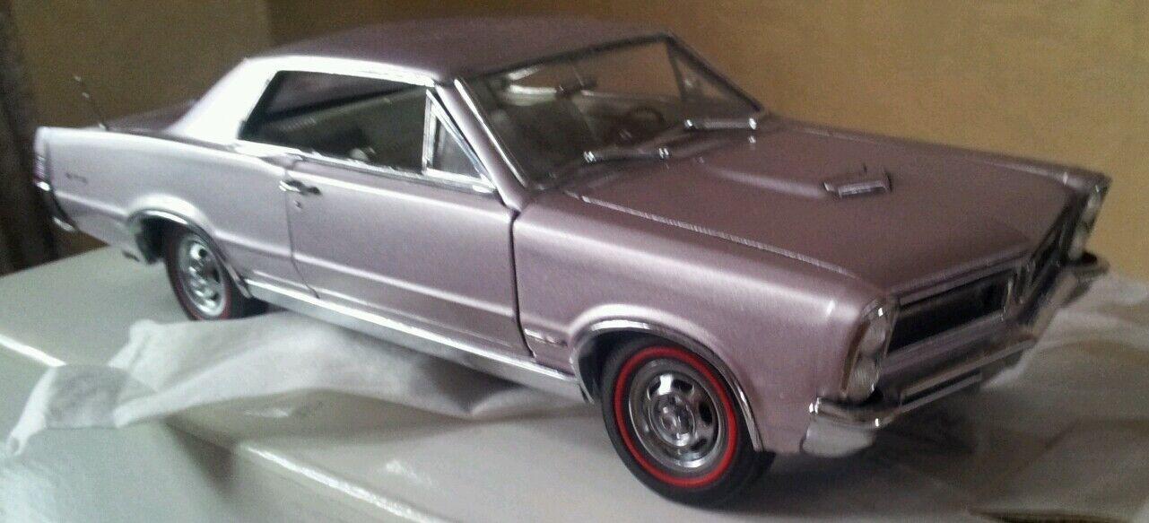 Danbury Mint 1965 Pontiac GTO Hardtop 389 Iris Mist Great Color Title NICE AS IS