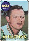 1969 Topps Phil Roof Oakland Athletics #334 Baseball Card