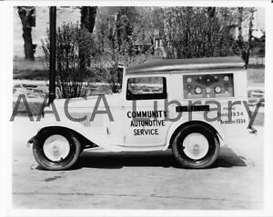 1934-Austin-American-Bantam-panel-truck-Factory-Photograph-Ref-22601-car