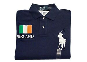 Image is loading POLO-RALPH-LAUREN-BIG-PONY-SHIRT-COUNTRY-IRELAND-