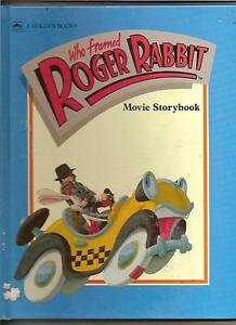 WHO FRAMED ROGER RABBIT MOVIE STORYBOOK BOOK 1988 - pontefract, West Yorkshire, United Kingdom - WHO FRAMED ROGER RABBIT MOVIE STORYBOOK BOOK 1988 - pontefract, West Yorkshire, United Kingdom