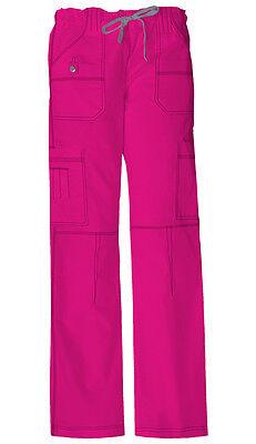 Scrubs Dickies Gen Flex Youtility Cargo Pant  857455 Hot Pink  FREE SHIPPING!