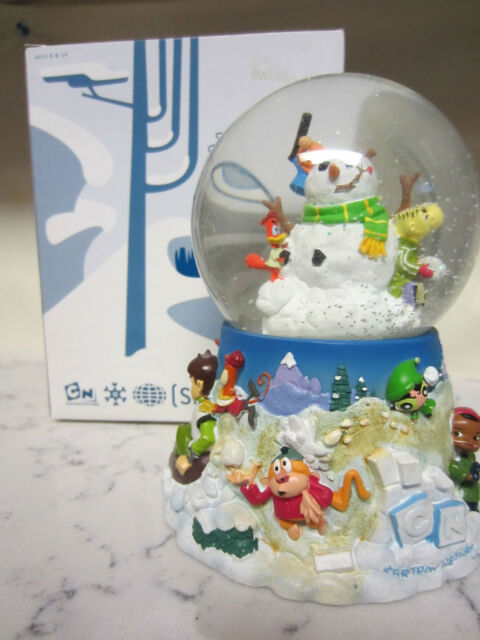 Cartoon Network Christmas Special Snow Globe Ed, Edd n Eddy Powerpuff Girls Rare