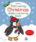 That's Not My Christmas Sticker and Colouring Book by Fiona Watt (Paperback, 2013)