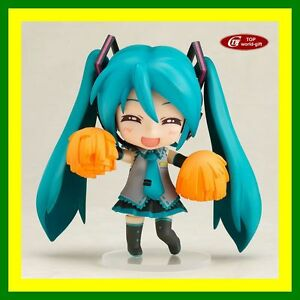HOT-ANIME-VOCALOID-Nendoroid-170-Cheerful-Hatsune-Miku-4-Figure-Face-Changable