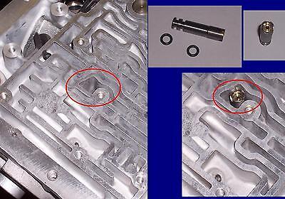 700R4 4L60 4L60E 4L65E NO DRILL ADJUSTABLE SERVO CALIBRATOR RESTRICTOR