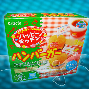kracie popin cookin hamburger instructions