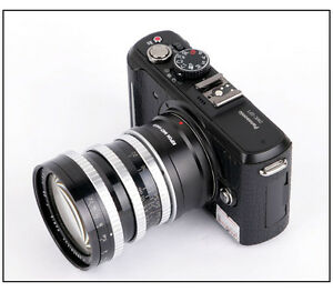 M42 to Macro 4/3 Panasonic G2/G1/GH1/gf1/EP1 adapter