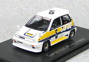 Ebbro 44473 Honda City Turbo R #5 Suzuka 1982 K.Acheson (Resin) 1/43 scale