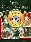Vintage Christmas Cards by Carol Belanger Grafton (Mixed media product, 2008)