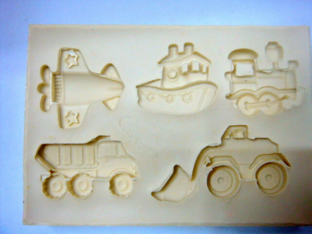 Sugarcraft Silicone Mold Fondant Mould Cup Cake, Clay -cute transport