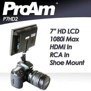 ProAm-7-034-1080i-HD-DSLR-Camera-LCD-Video-Monitor-HDMI-RCA-AV